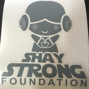 Shay Strong Lea Sticker
