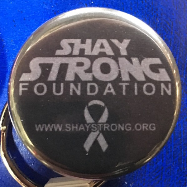 Shay Strong Foundation Keychain