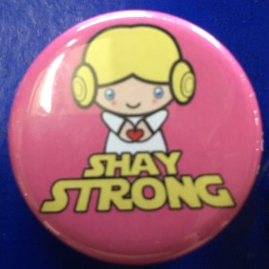 Shay Strong Lea Pin